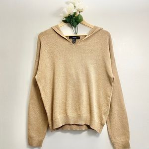 💜 XXl Hooded Knitted Sweater